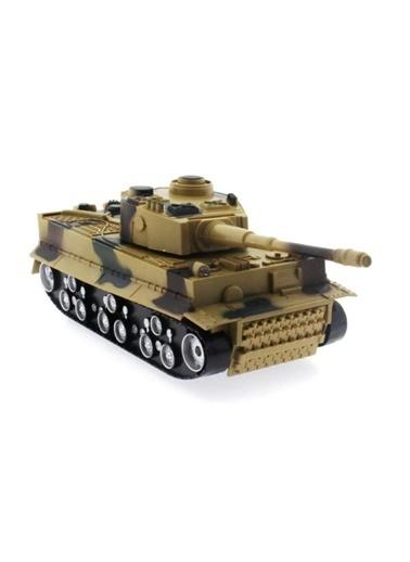 Mega Oyuncak Pilli Uzaktan Kumandalı Askeri Tank 1/36 Ölçekli Oyuncak Renkli